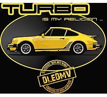 DLEDMV - Turbo is my religion Photographic Print