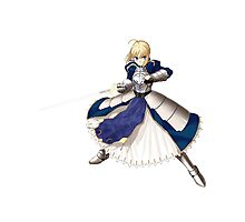 Fate/stay night - Saber Photographic Print