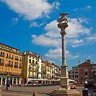 Italy. Padua. Piazza dei Signori. by vadim19