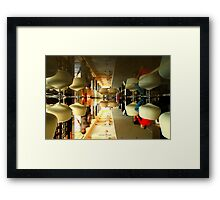 The World Upside Down - City Life Framed Print