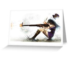 Caitlyn The Sheriff Of Piltover (League of Legends) Greeting Card