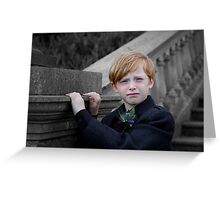 Little Scot Greeting Card