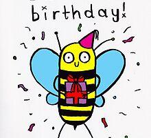 HA-BEE BIRTHDAY! by lucylittler
