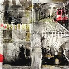 COLLAGE MIXED MEDIA by db Waterman