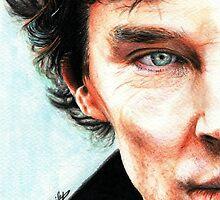 Sherlock by Cécile Pellerin