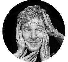 Benedict Cumberbatch by Cécile Pellerin