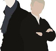 John and Sherlock by Kelsie Heckman