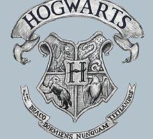 Hogwarts by Cécile Pellerin