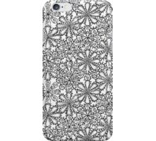 Winter flowers iPhone Case/Skin