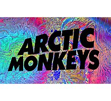 Psychedelic Arctic Monkeys Photographic Print