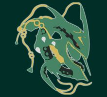 Mega Rayquaza by TheAngryAggron