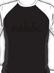 Sucka Free Silhouette, Black T-Shirt
