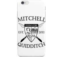 Mitchell Quidditch Design 2 iPhone Case/Skin