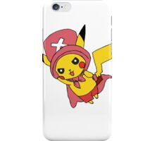 pikachu - chopper  iPhone Case/Skin
