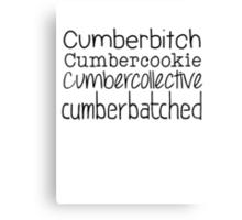 Cumberbatched Canvas Print