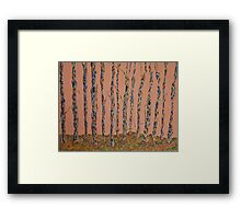 Dawn in the Woods Framed Print