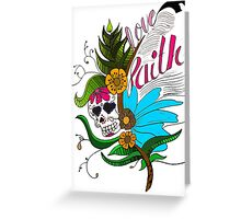 Faith Feather Greeting Card