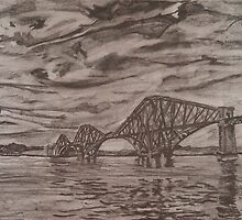 The Scottish Forth Road Bridge by Sophie Monaghan