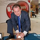 Councillor Peter Fortune at INTU shopping centre by Keith Larby