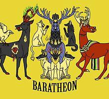 Baratheon Stags by kisindian