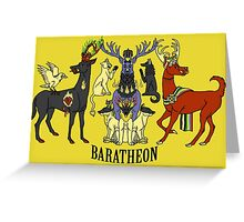 Baratheon Stags Greeting Card