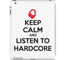 Keep Calm Hardcore iPad Case/Skin