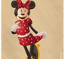 Minnie Mouse by iansmileyart