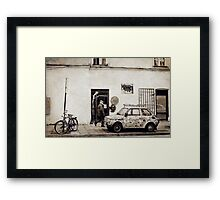 Street in Cracow Framed Print