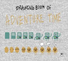Drawing book adventure time by LTEP