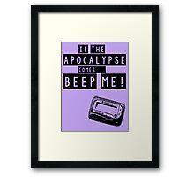 Buffy the Vampire Slayer Apocalypse Framed Print