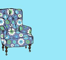 Grandpa's Armchair by KatHassell