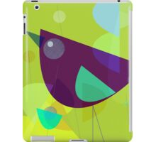 Abstract Purple Bird iPad Case/Skin