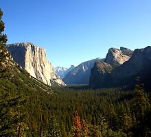 The Picturesque Yosemite Valley by josephjames