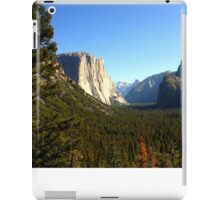 The Picturesque Yosemite Valley iPad Case/Skin