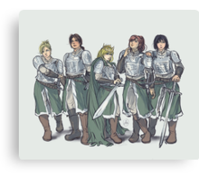 Armored Canvas Print