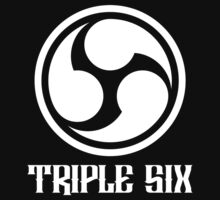 666 Triple Six + Font (white) by MysticIsland