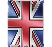 British Union Jack Flag 2 - UK - Metallic iPad Case/Skin