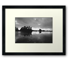 The Goddess Awakes (Frank Island, Pacific Rim National Ecological Preserve, Vancouver Island, British Columbia, Canada, November 2005) Framed Print