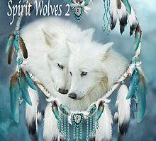Spirit Wolves 2 2015 Calendar by Carol  Cavalaris