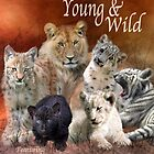 Young And Wild 2015 Calendar by Carol  Cavalaris