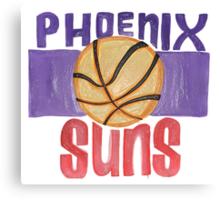 Phoenix Suns design Canvas Print