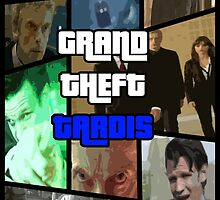 Grand Theft Tardis by ItsSabYo