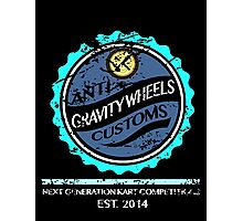 Anti Gravity Wheels Custom (Distressed Version) Photographic Print