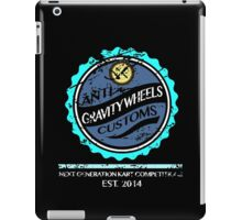 Anti Gravity Wheels Custom (Distressed Version) iPad Case/Skin