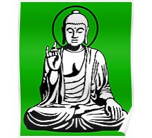 Young Buddha No.1 (2 colors) Poster