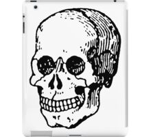 Old Retro Skull iPad Case/Skin