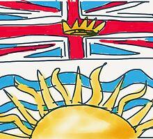 Flag of British Columbia by JennAshton