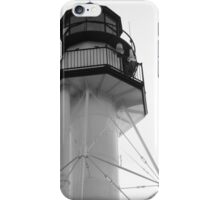 Lighthouse White Fish Point iPhone Case/Skin