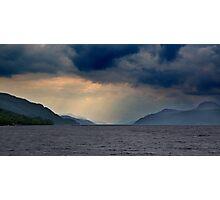 Dark Loch Photographic Print