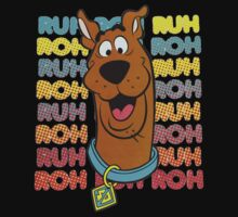 Scooby Doo Ruh Roh Dog Shirt, Stickers, Cases, Totes, Posters by 8675309